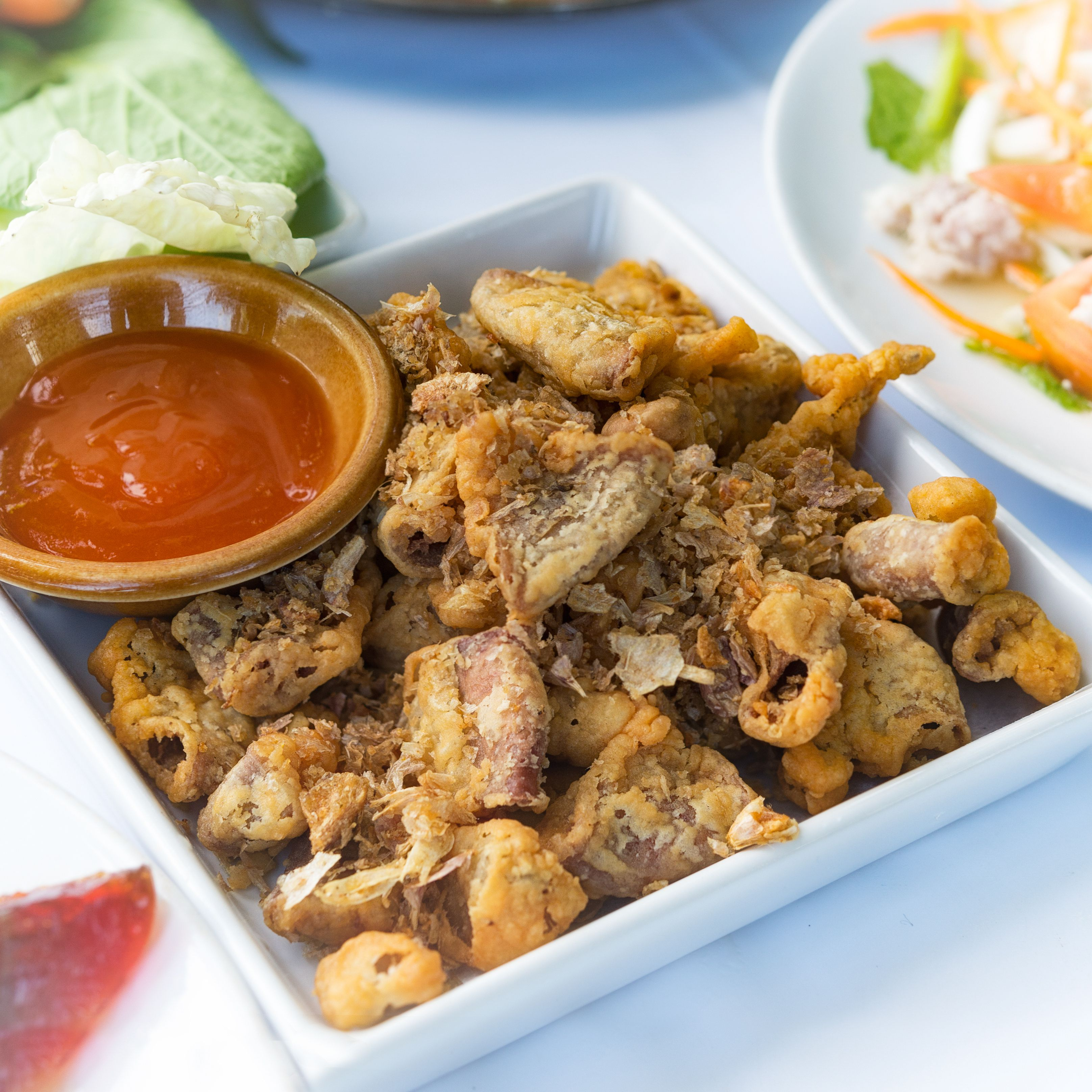 Southern-Style Deep-Fried Chitterlings