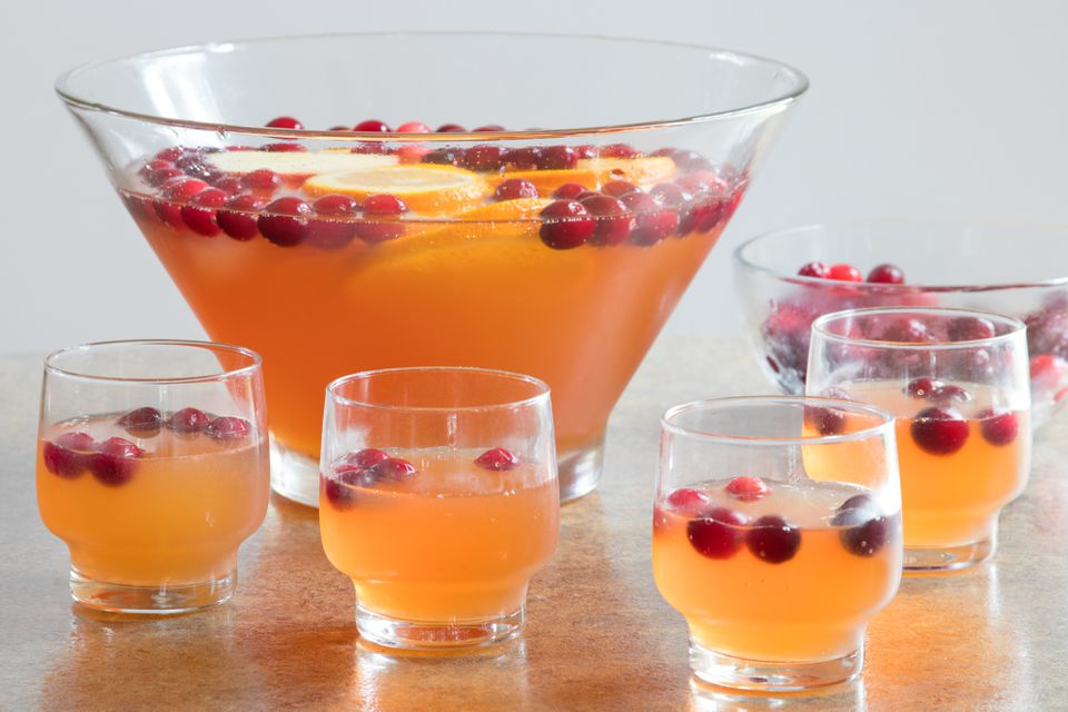 Easy Make-Ahead Thanksgiving Punch