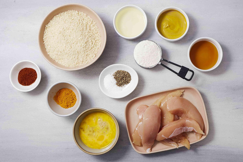 Crispy Baked Chicken Tenders Recipe ingredients