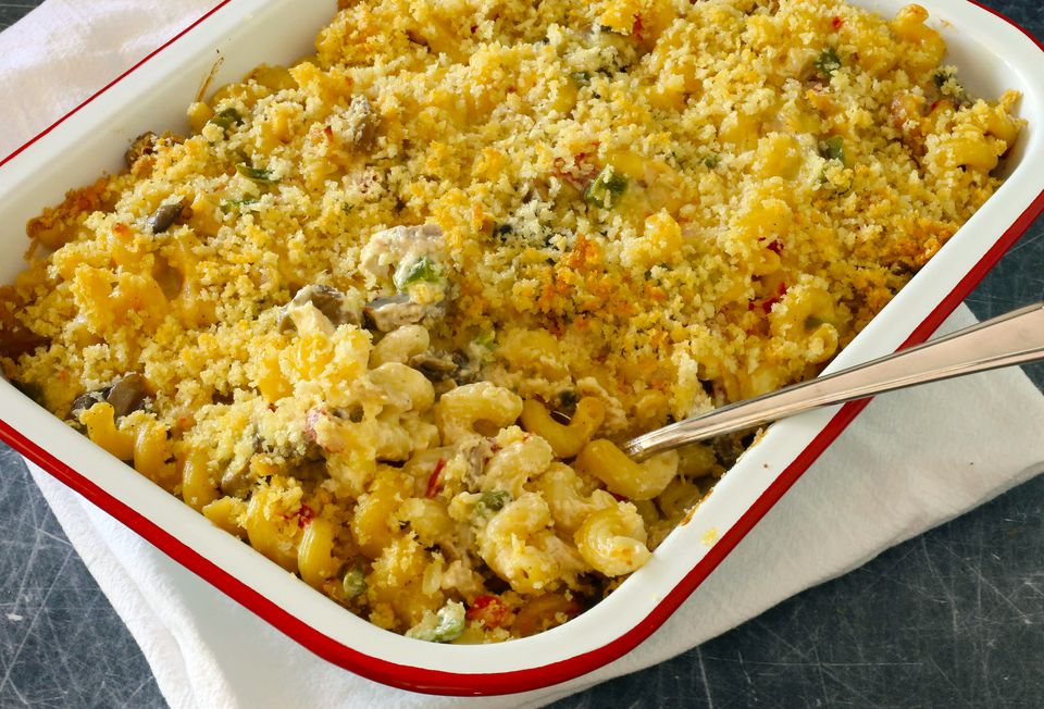 chicken and macaroni casserole