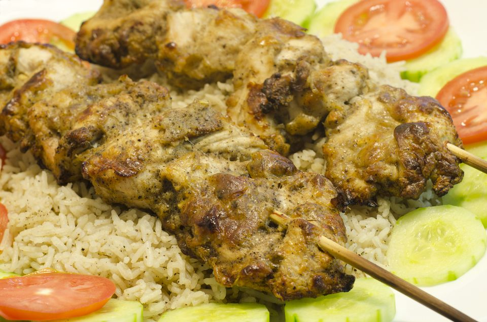 Indian Chicken Kabab (Murg Malai)