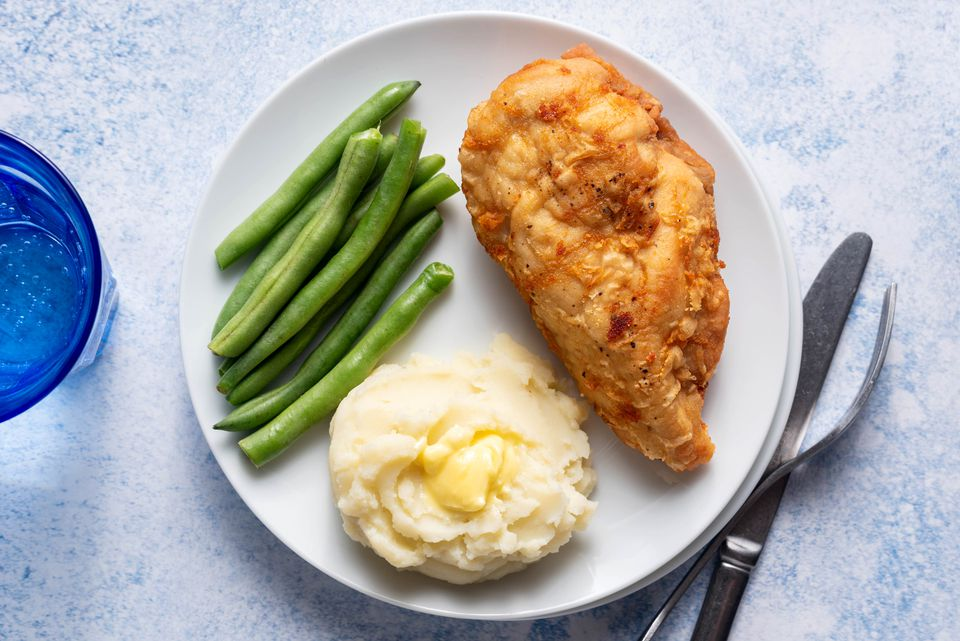 Simple Fried Chicken Breasts