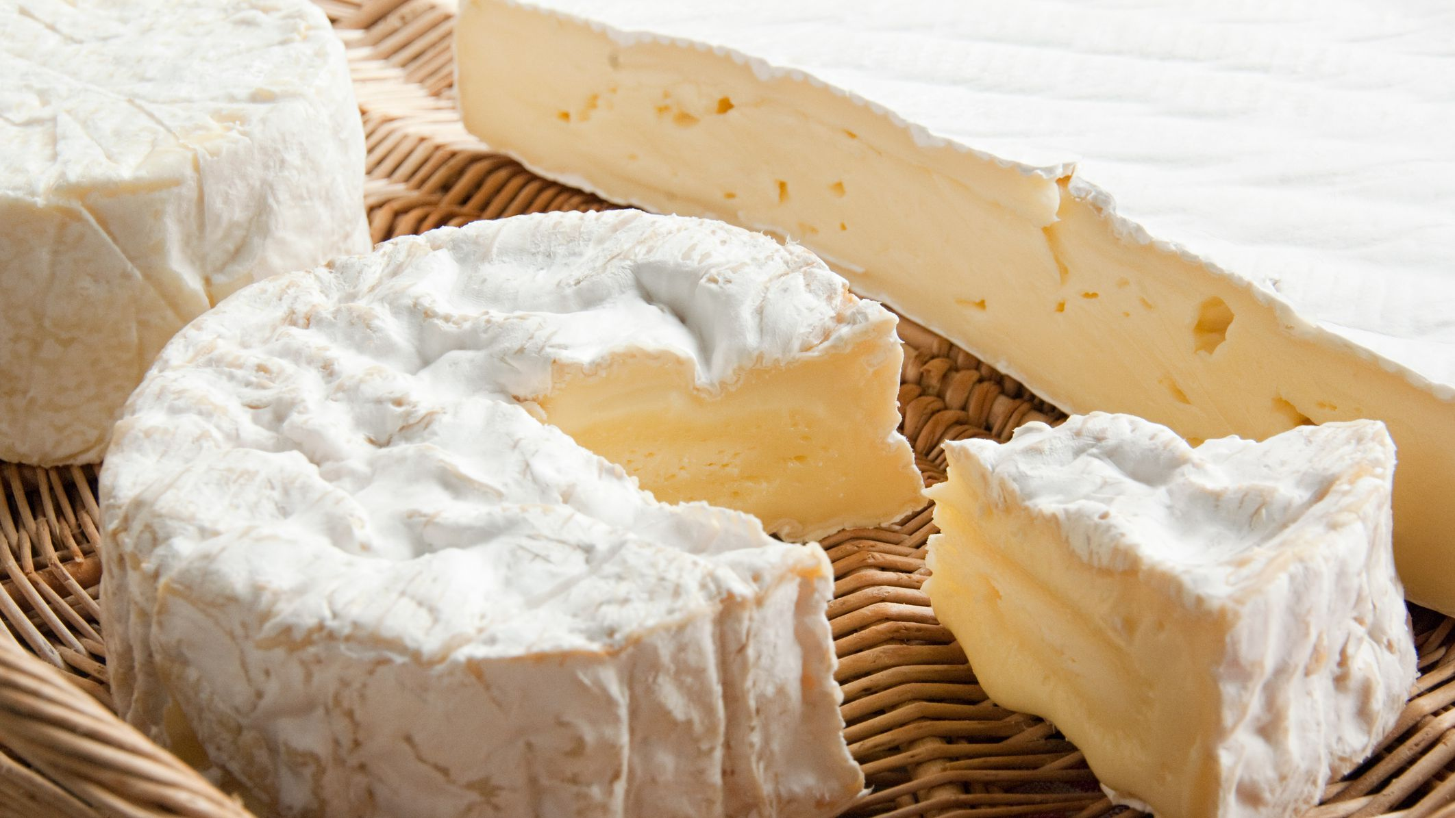 Three Different Types of Cheese Rinds