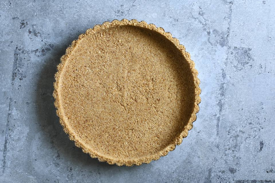 Peanut Butter Graham Cracker Pie Crust
