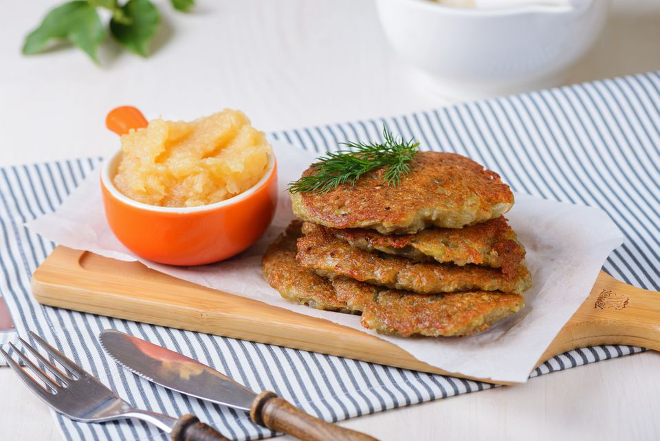 Vegan latke recipe