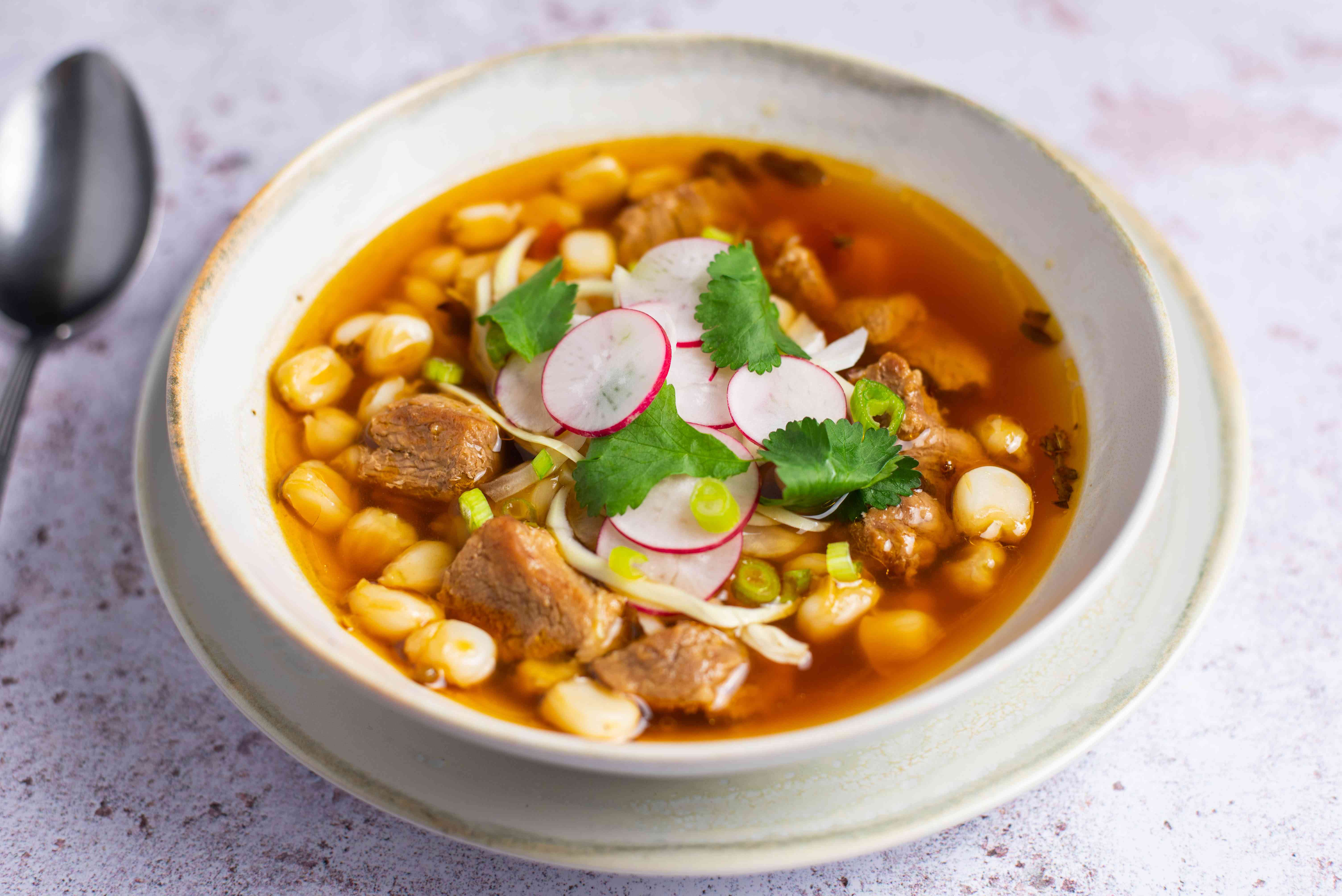 Mexican pozole recipe