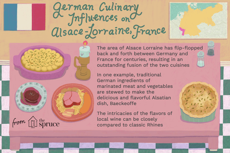 german culinary influences on alsace-lorraine, france