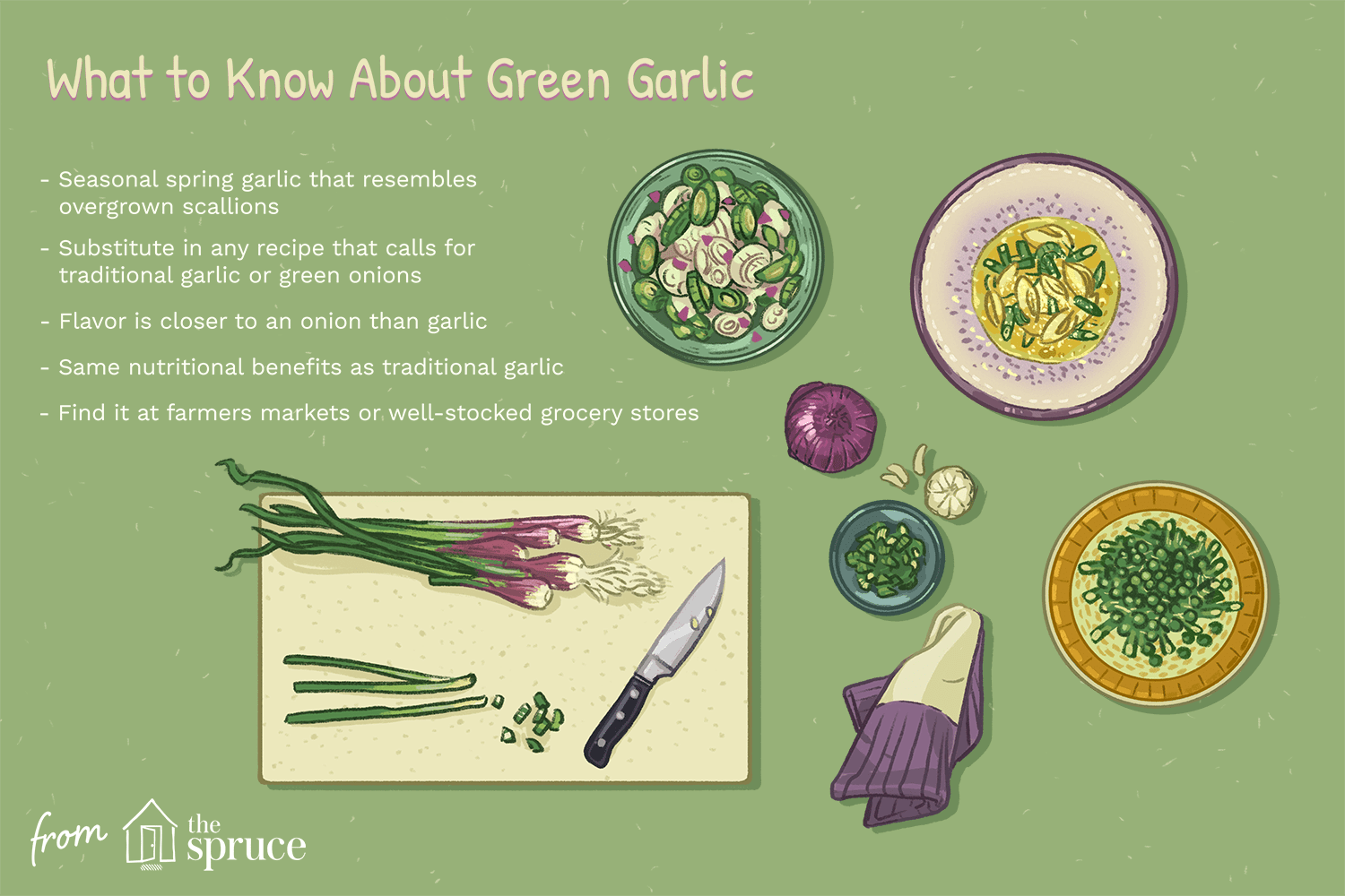 what is green garlic