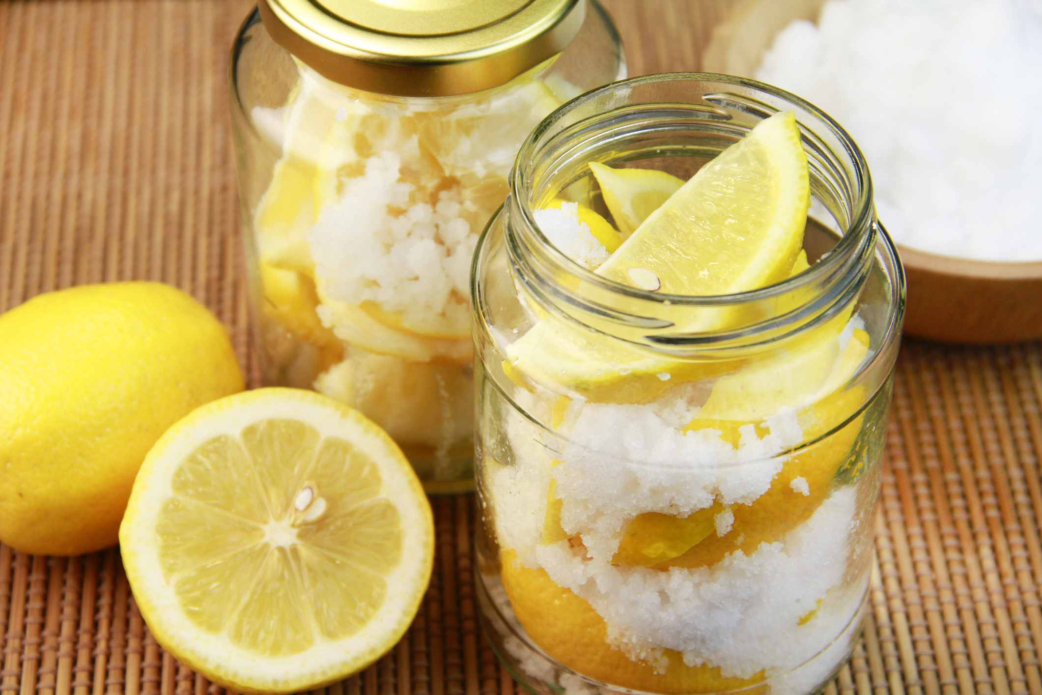 Jar of Preserved Lemons