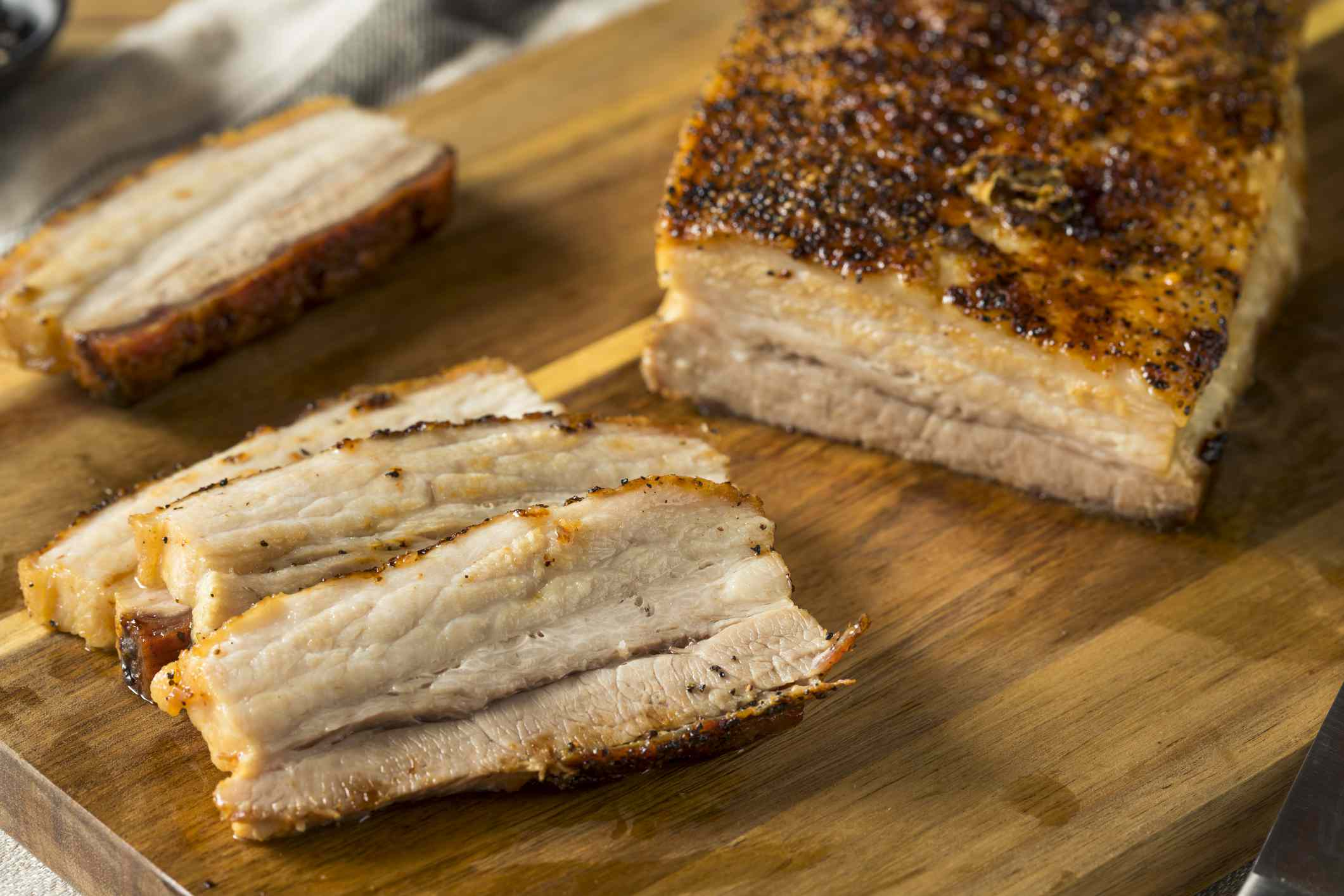 what is pork belly