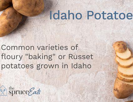 what are idaho potatoes