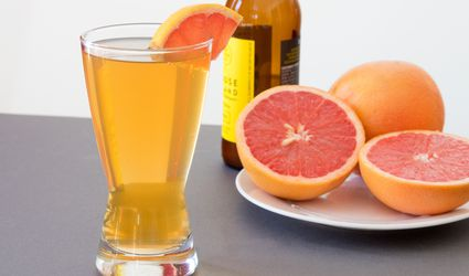 Refreshing, Made-From-Scratch Grapefruit Shandy