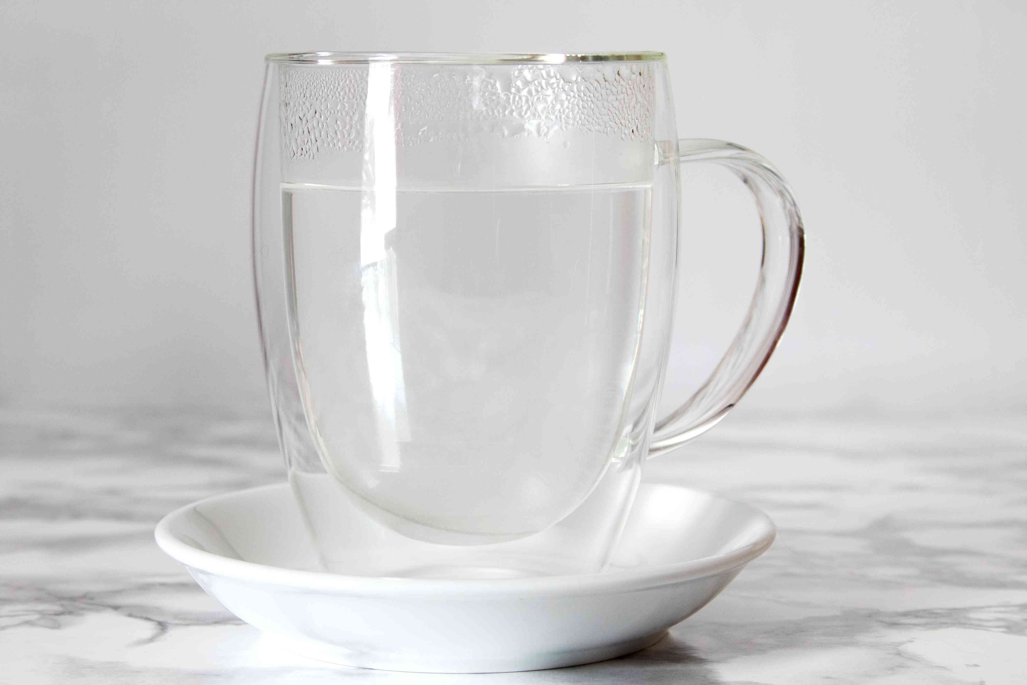 Heat Coffee Mug With Hot Water for Pour-Over Coffee
