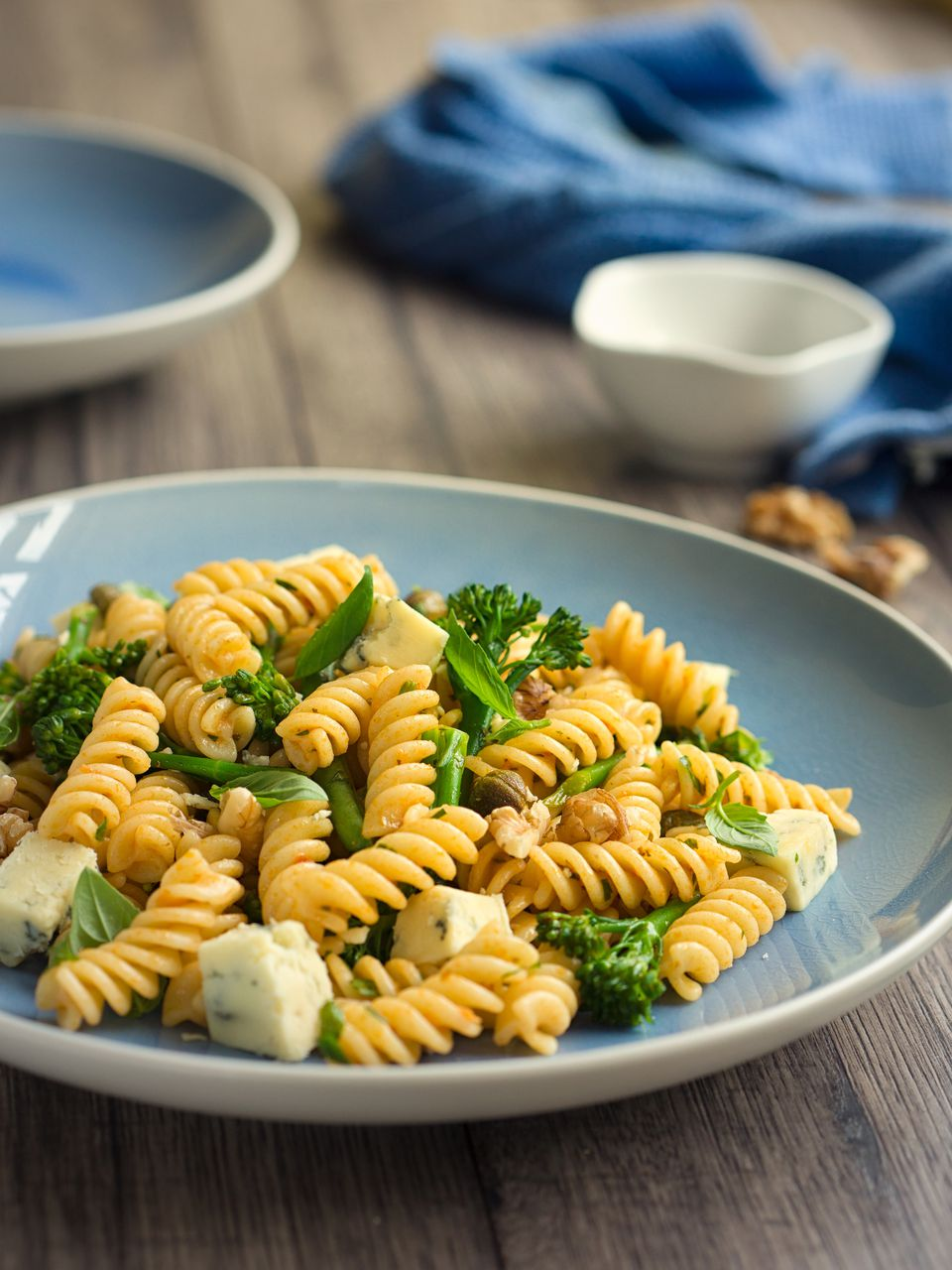 Baby Broccoli Walnut Pasta