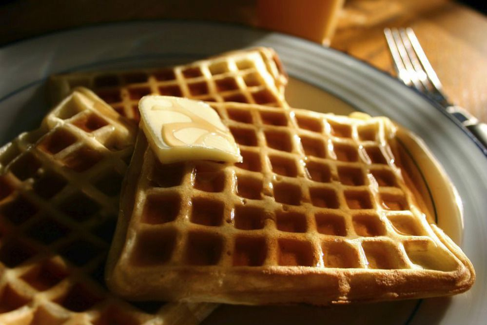 Sugar-Free Dinner Waffles