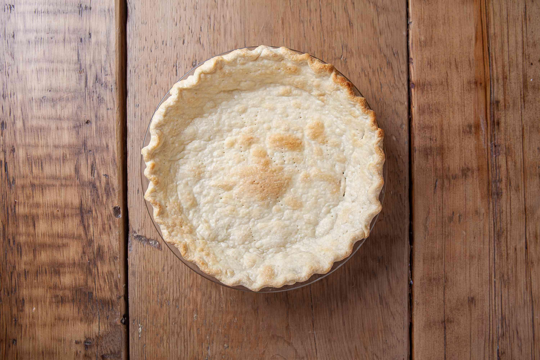 Pumpkin chiffon pie crust