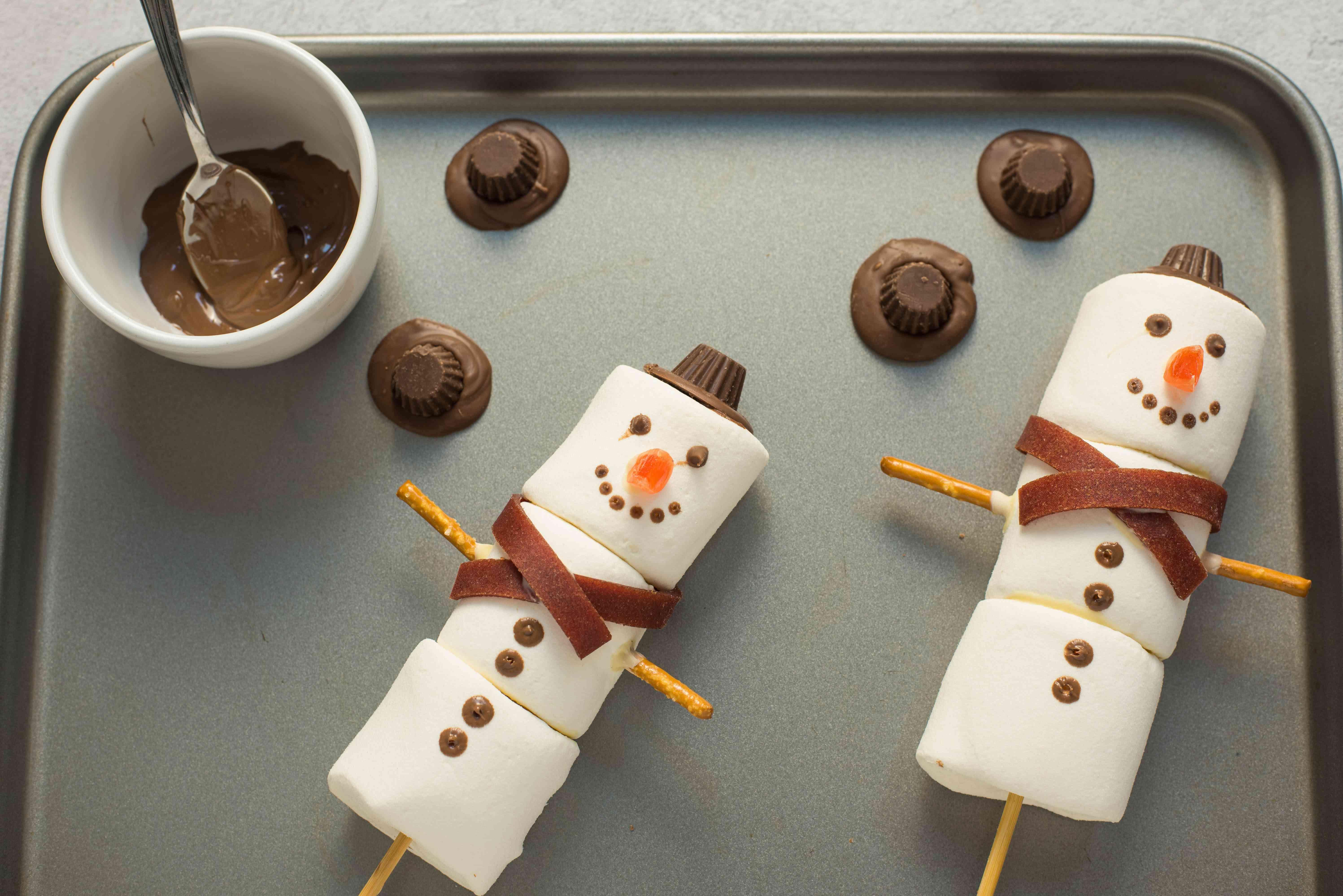 Remove snowmen from fridge
