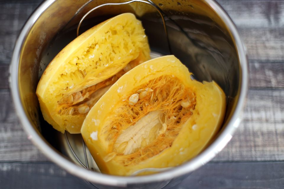Spaghetti squash in the Instant Pot