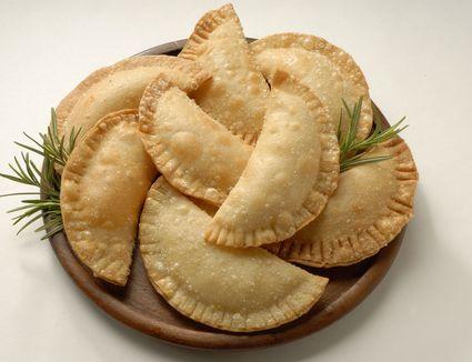 Famous Latin American Empanadas on a plate