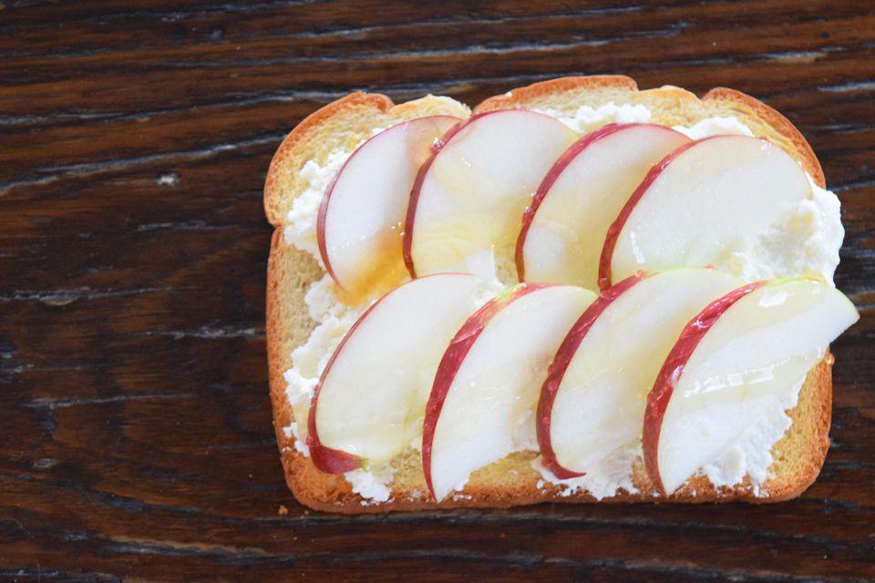 Honey Apple Toast
