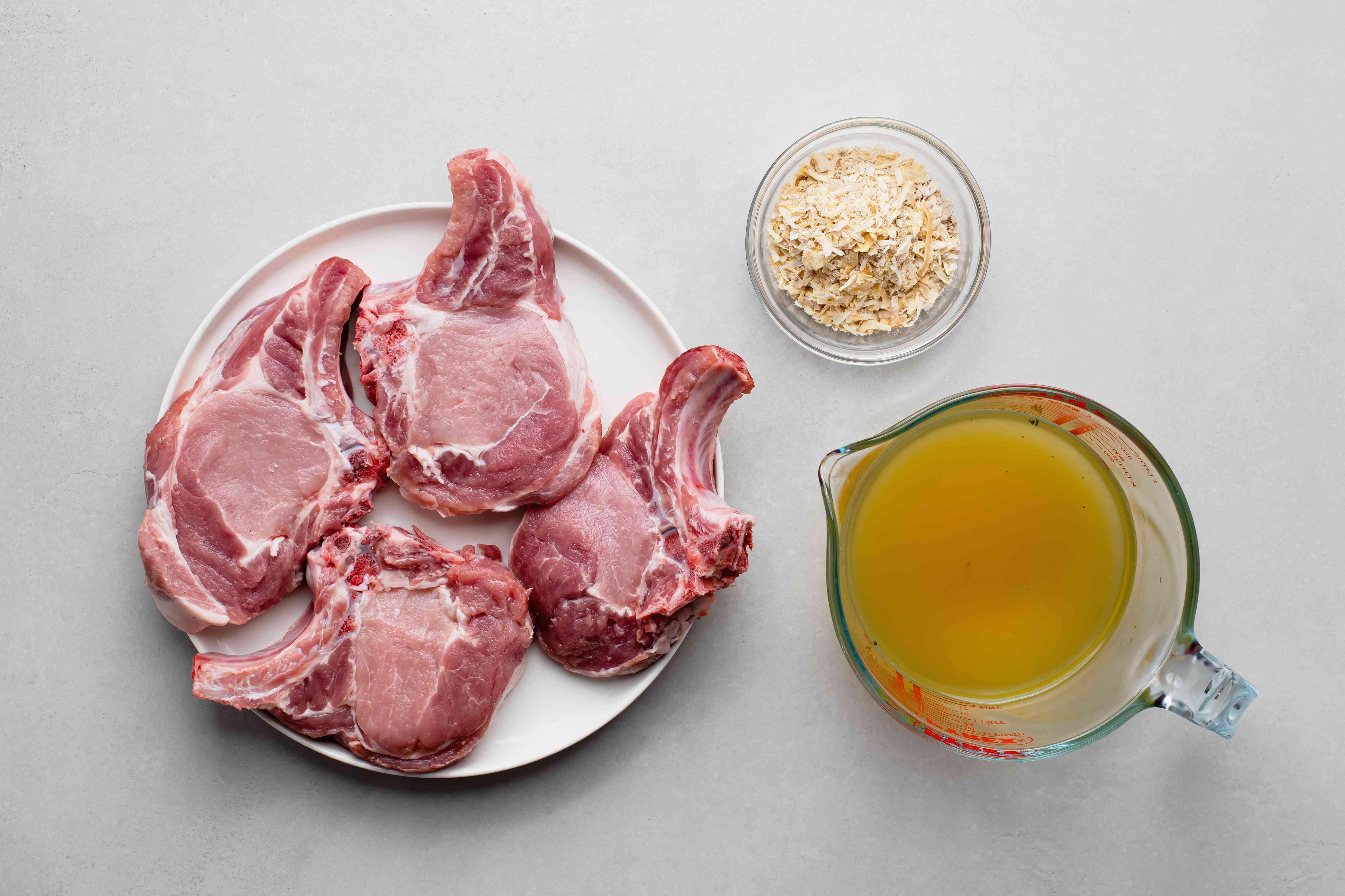 Crock Pot Easiest Pork Chops ingredients