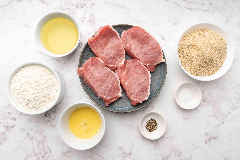 Polish Breaded Pork Cutlets (Kotlety Schabowy) ingredients