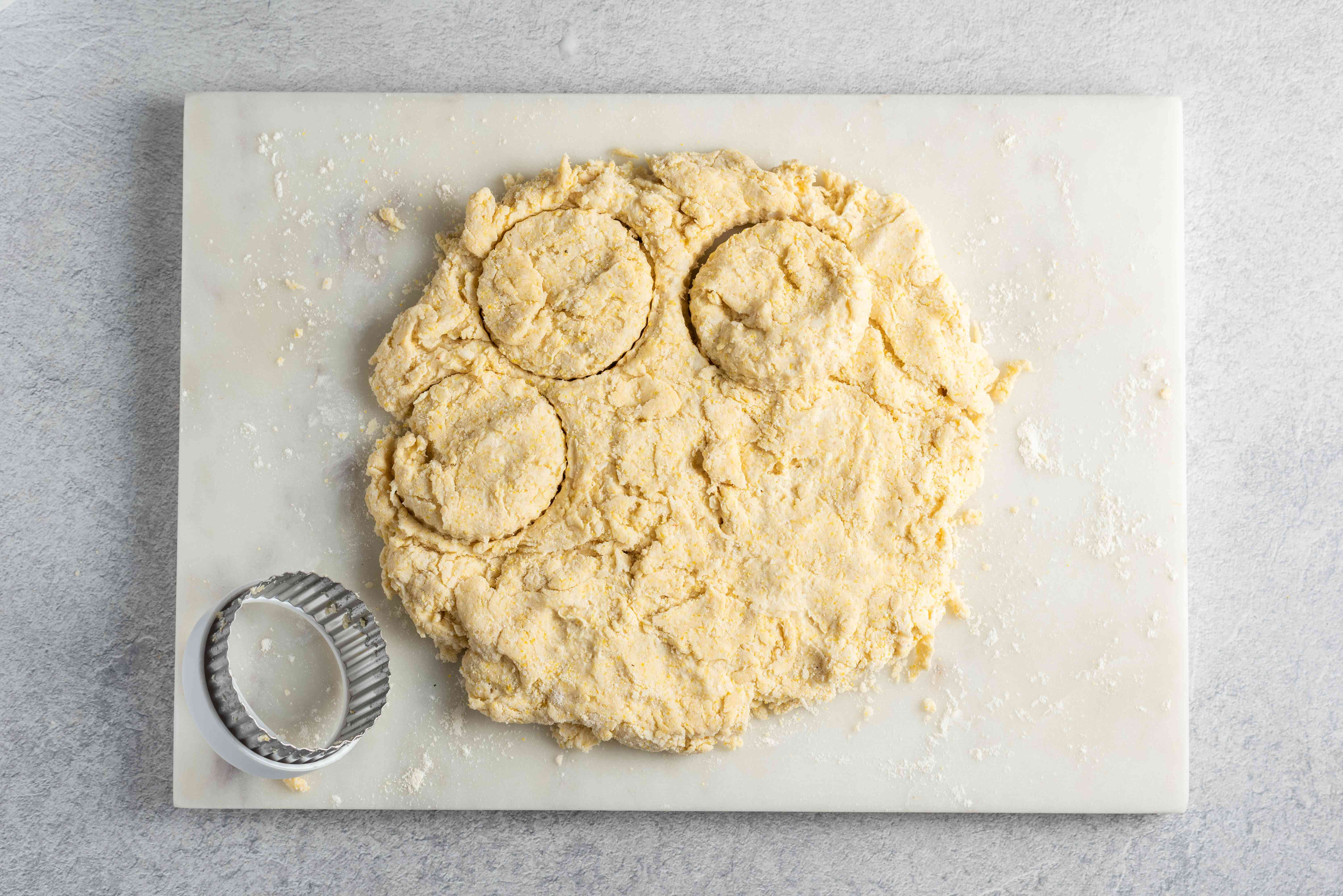 Roll out biscuits
