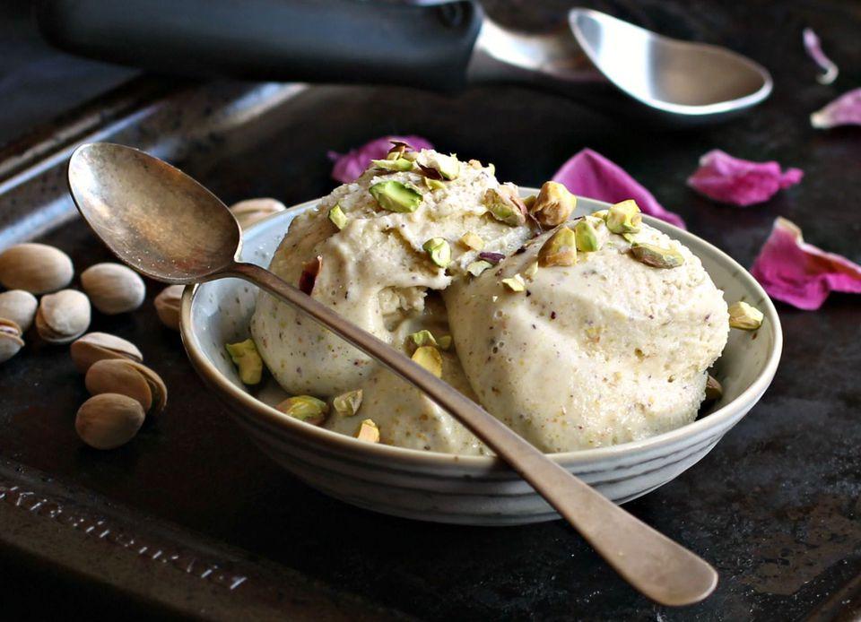 Honey Pistachio Ice Cream