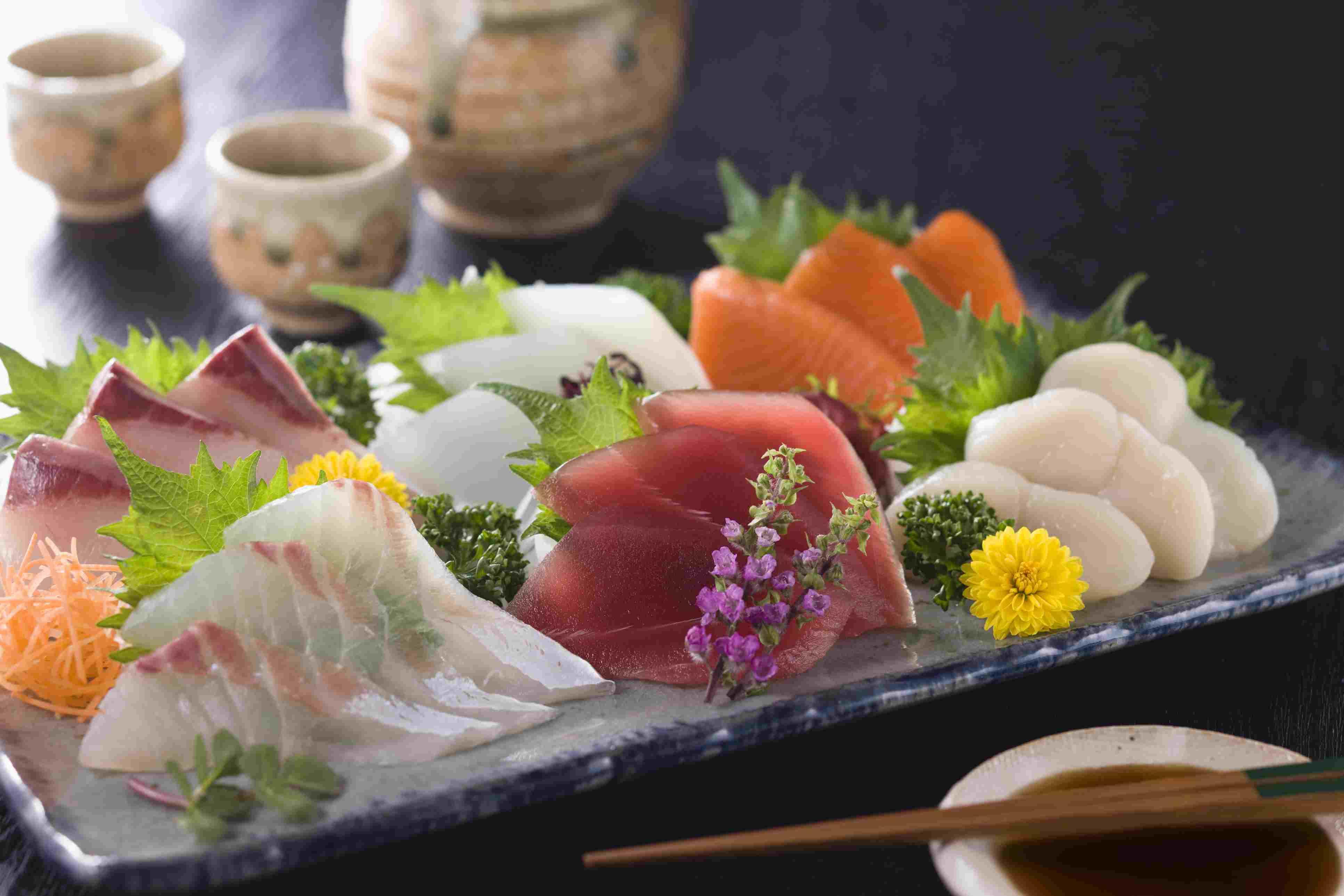 Assorted Sashimi (Raw Fish)