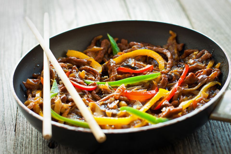 Chinese Stir-Fry Beef With Vegetables