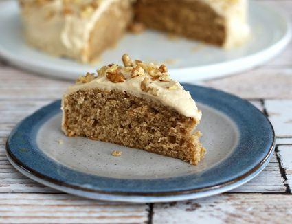 Coffee Walnut Snack Cake recipe
