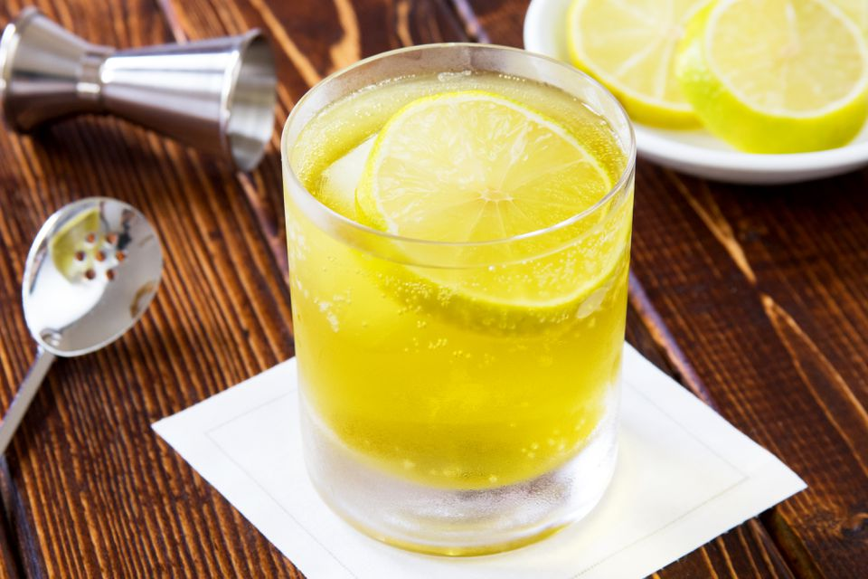 Melon Splash With Bourbon