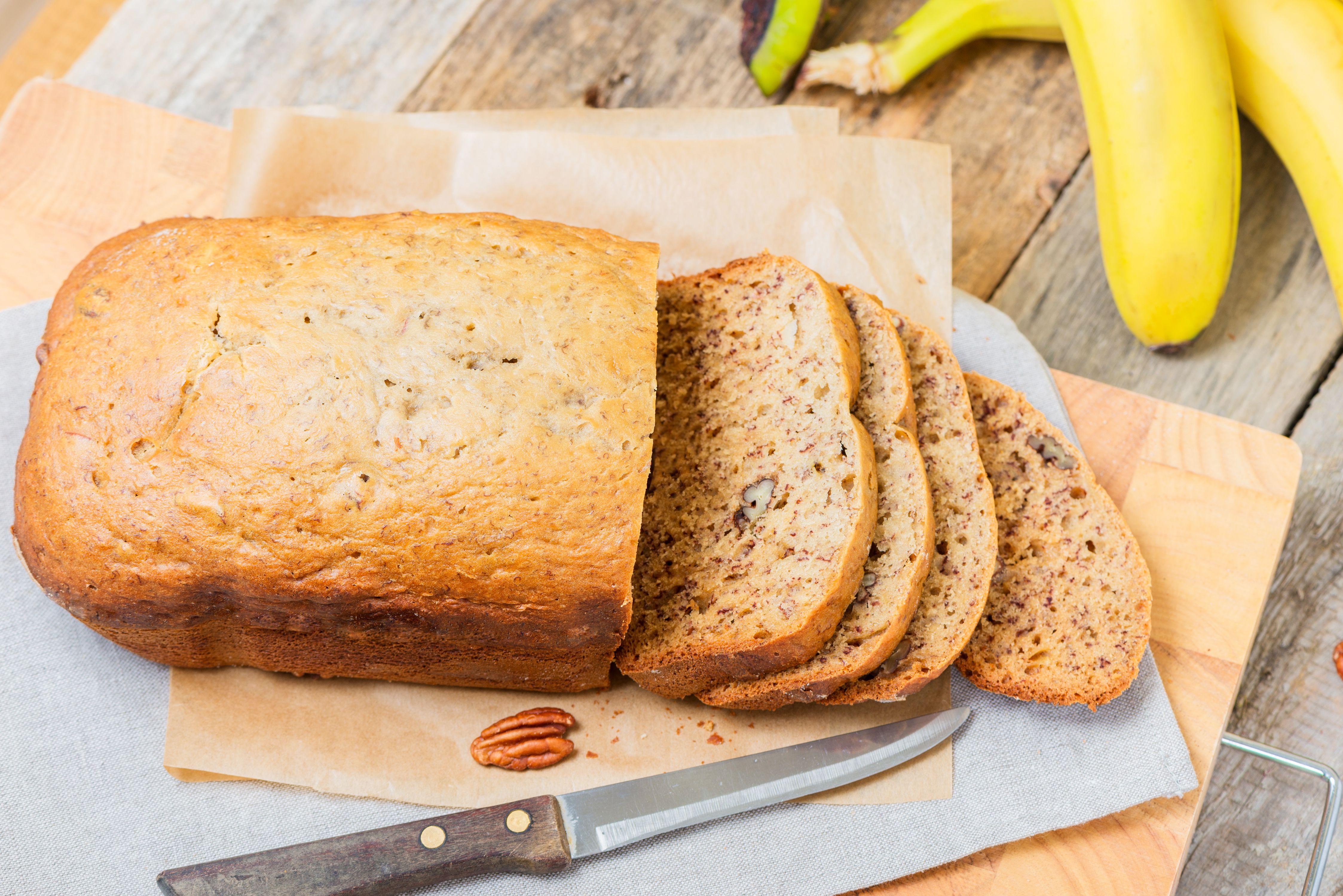 A Recipe for Making Banana Bread in a Bread Machine