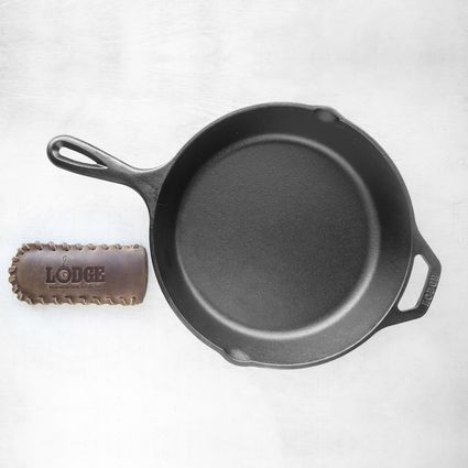 Lodge 10.25-Inch Seasoned Cast Iron Skillet