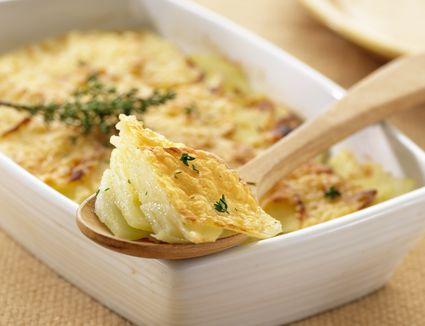 Potatoes gratin