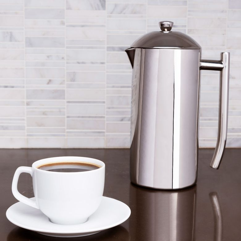 Frieling Double-Wall Stainless Steel French Press Coffee Maker