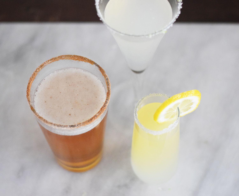 rimming cocktails