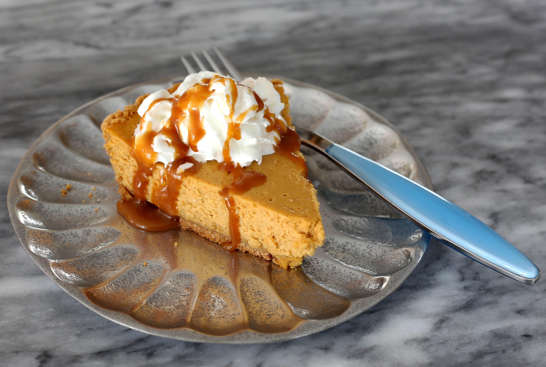 sweet potato cream cheese pie
