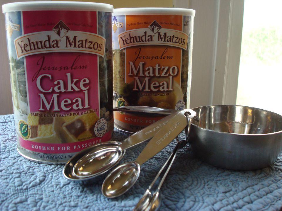 Matzo Meal and Cake Meal