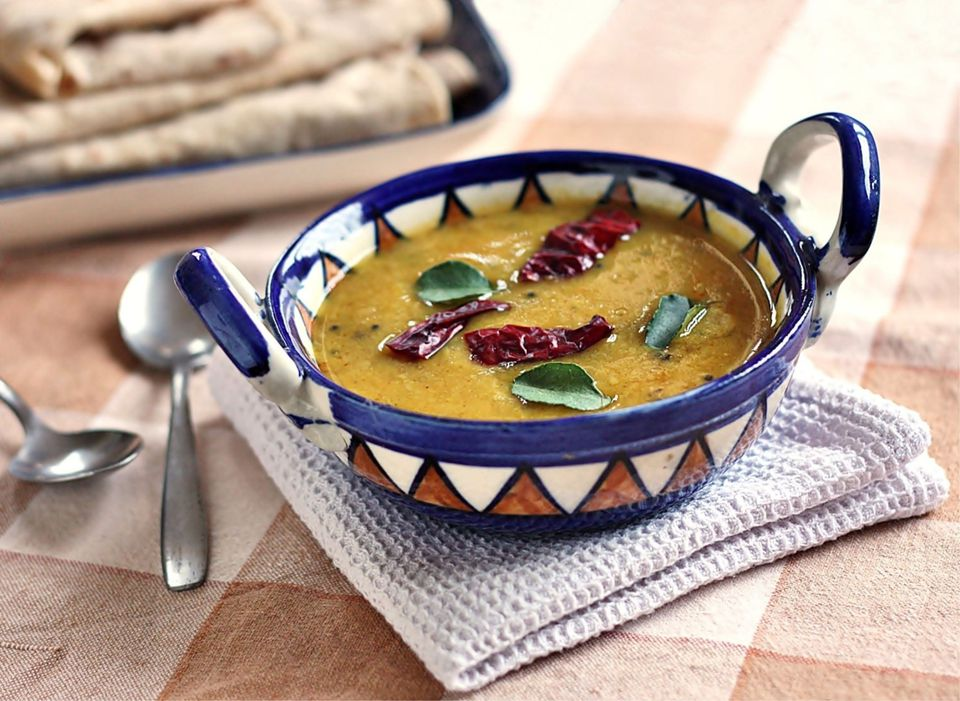 Tadka Daal - Curry de lentejas templadas