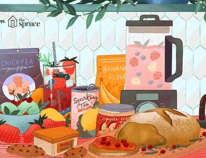illustration of food and drink trend predictions for 2020