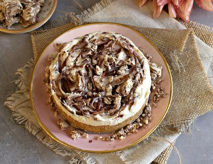 Tahini Cheesecake