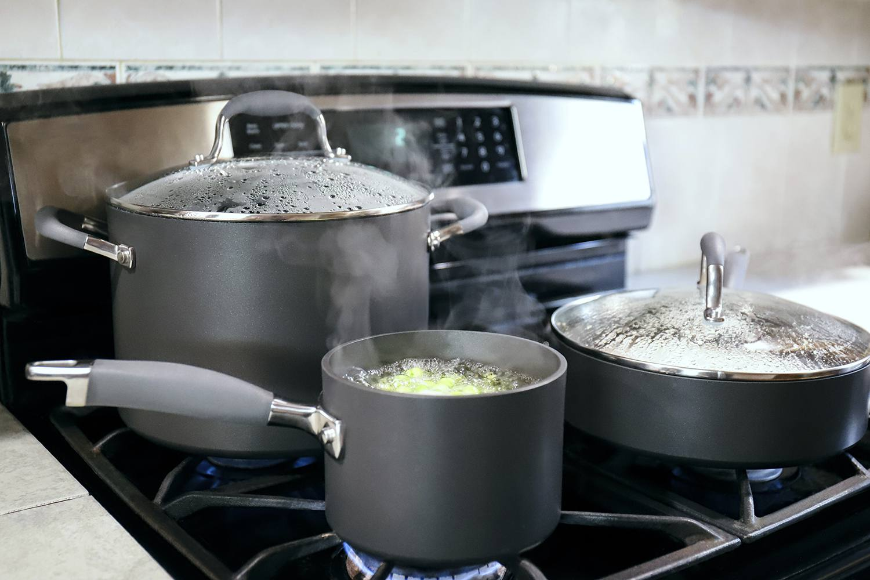 Anolon Advanced Hard-Anodized Nonstick 11-Piece Cookware Set