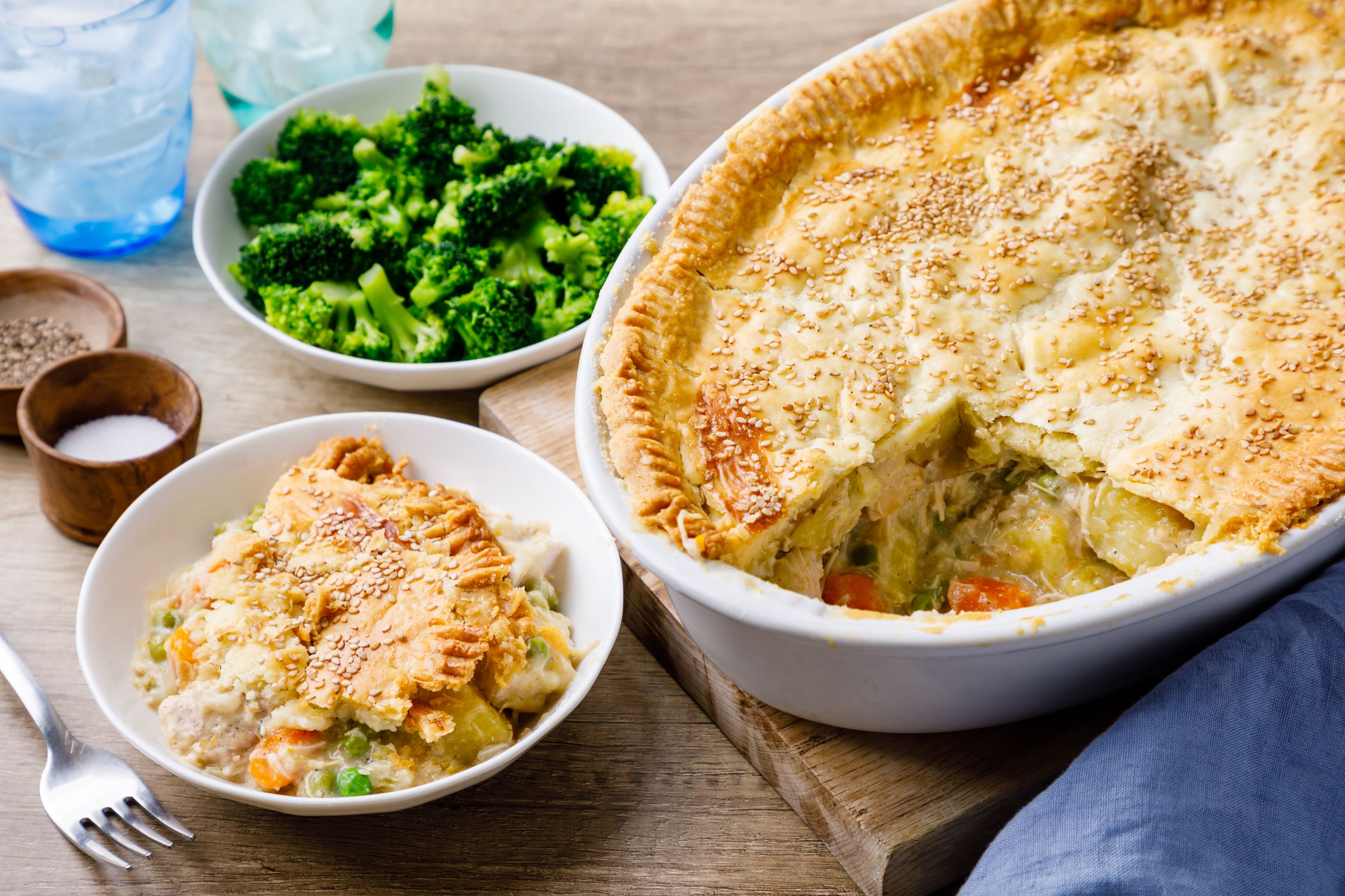 This Instant Pot Chicken Pot Pie Will Become a Family Favorite