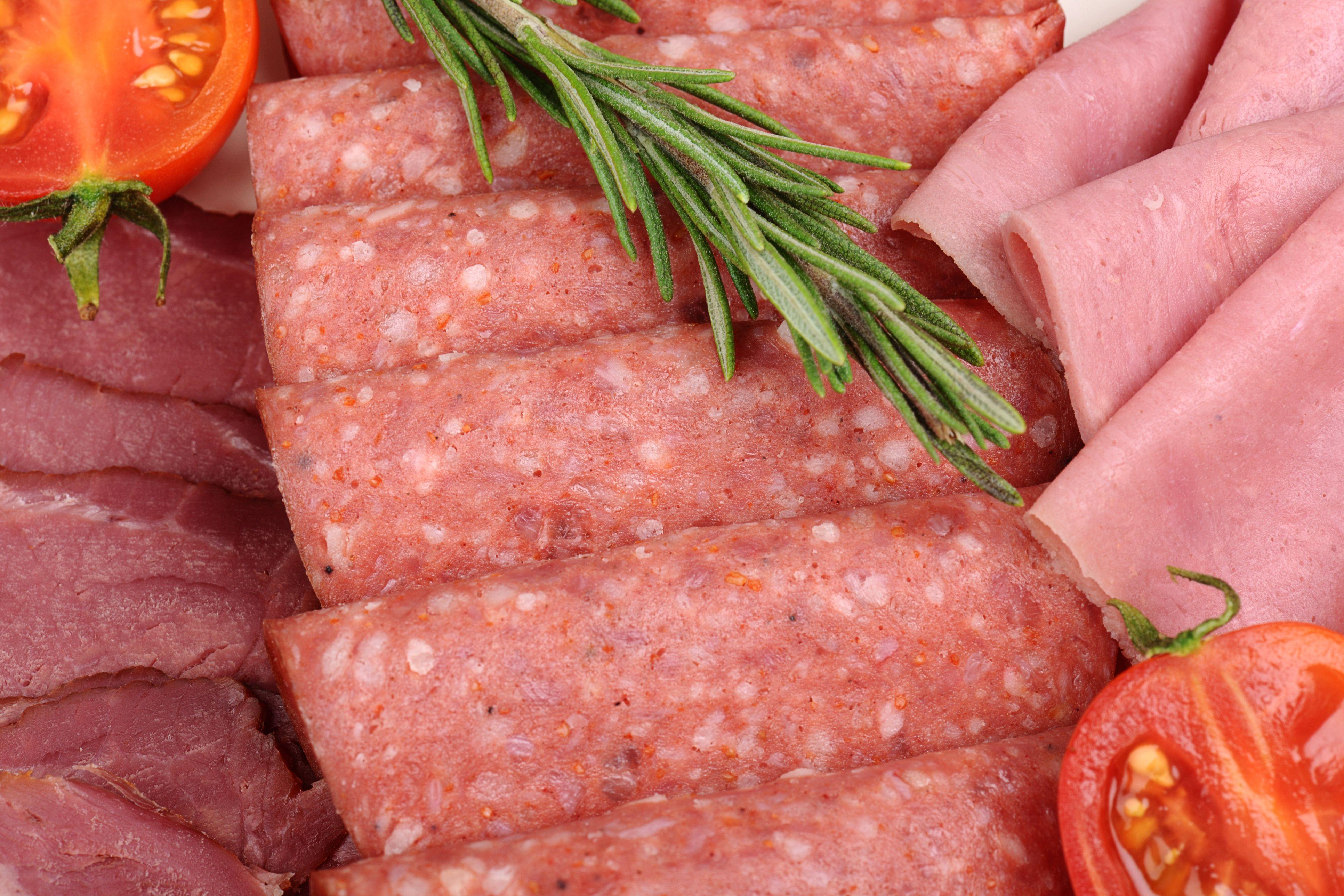Deli sliced meat