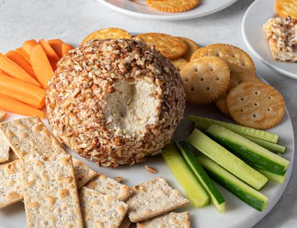 Festive Party Cheese Ball With Pecans
