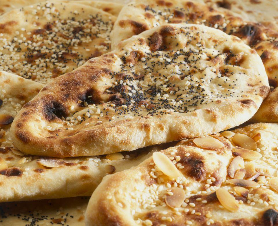 Naan bread with za'atar