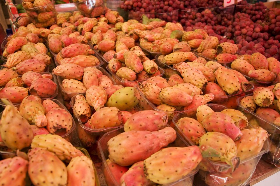 Sabra fruits for sale in a Tel Aviv Market