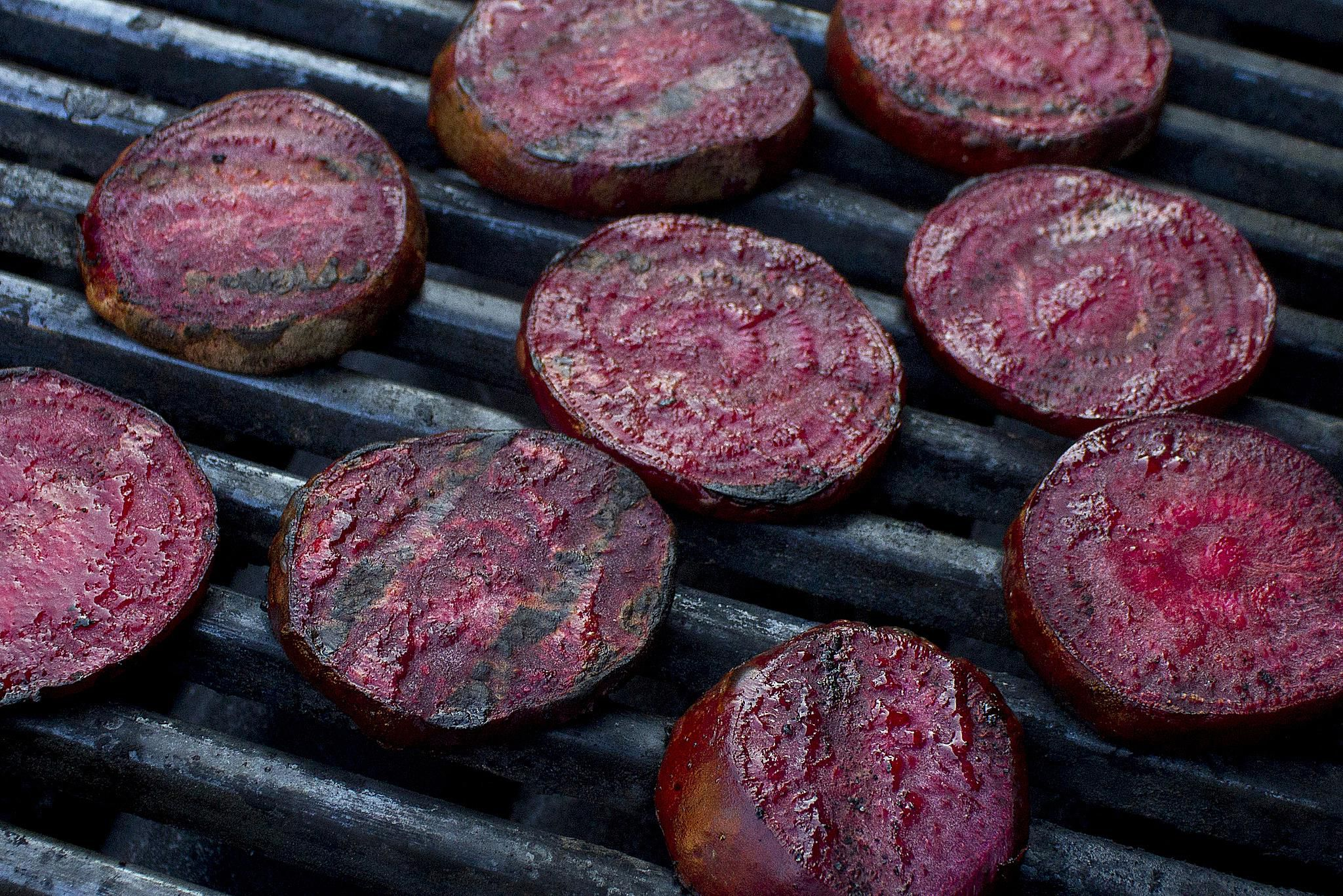 Balsamic Barbecued Beets (Vegan Grill Recipe)