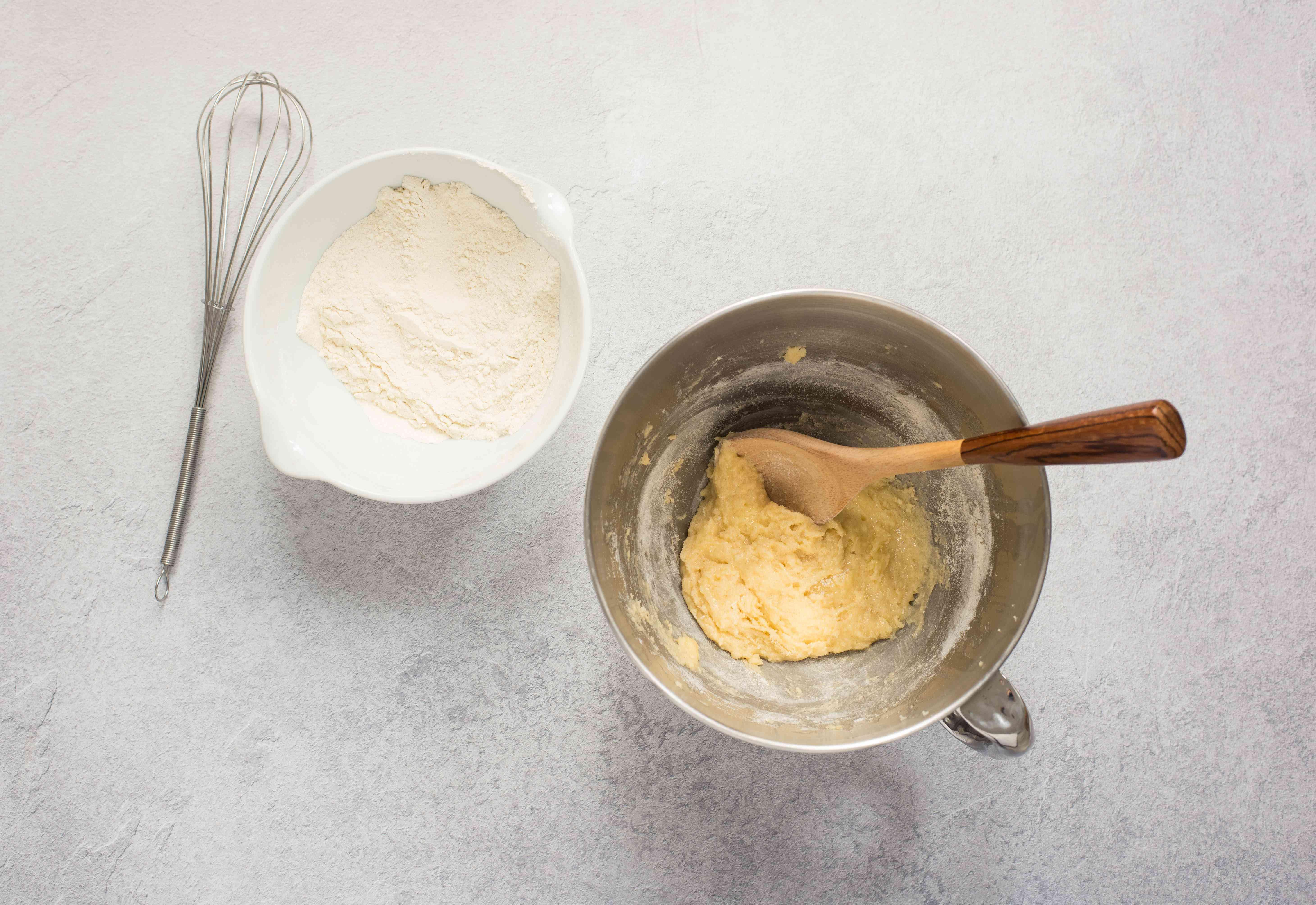 Whisk together flour